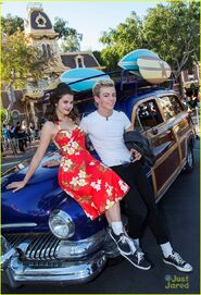 Ross with TBM Disney Parade (6)