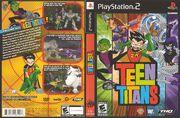 Teen Titans Ps2 cover