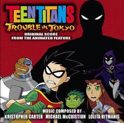Teen Titans - Trouble in Tokyo CD