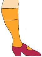 Velma Dinkley's Shoe