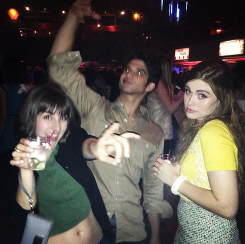 File:Teen Wolf Season 3 Seana Gorlick Tyler Posey Holland Roden MTV Upfront Afterparty.png