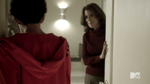 Teen Wolf Season 4 Episode 9 Perishable Lorraine Martin meets Meredith