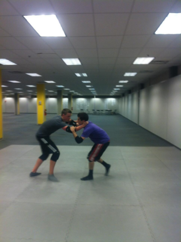 File:Maze Runner Behind the Scenes Dylan O'Brien trains with Will Poulter.png