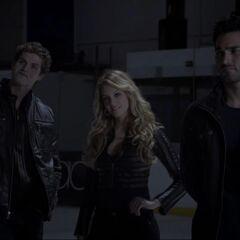 Isaac & Erica With Derek.