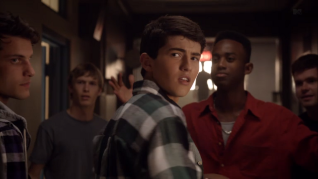 File:Teen Wolf Season 3 Episode 8 Visionary Ian Nelson Cocky Young Derek.png