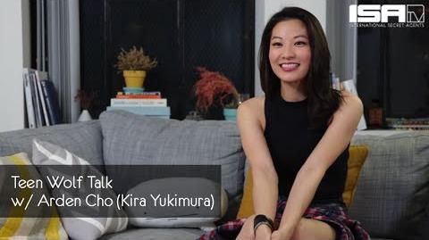 Teen Wolf Talk w Arden Cho (Kira Yukimura) - ISAtv Artist Feature
