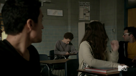 Teen Wolf Season 3 Episode 23 Insatiable Meredith shows up at school