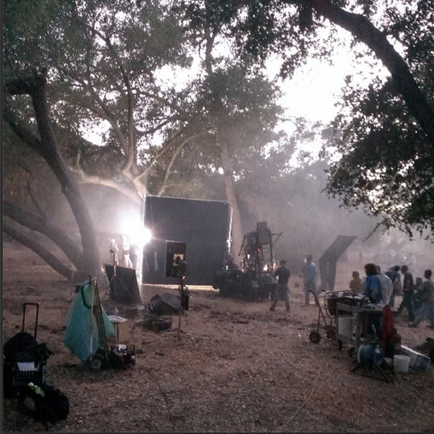 File:Teen Wolf Season 3 Behind the Scenes on location August 7.png