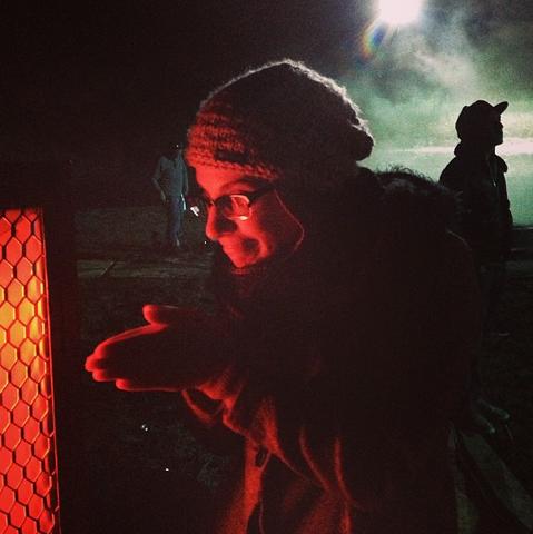 File:Teen Wolf Wikia Season 3 Behind the Scenes Danielle Garre Night Shoot.png