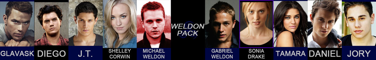 Weldon Pack spread