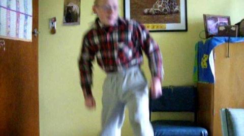 Dancing nerd