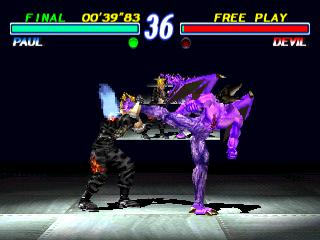 Image - Tekken 2 - Paul Phoenix versus Devil.png | Tekken ...