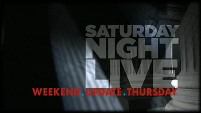 SNL Weekend Update Thursday title card
