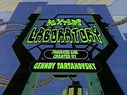250px-Dexter's Laboratory title