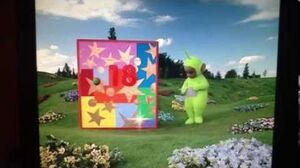 Teletubbies Advent Calendar No 18