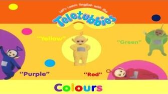 Let's Learn English With The Teletubbies! Colours (2006)