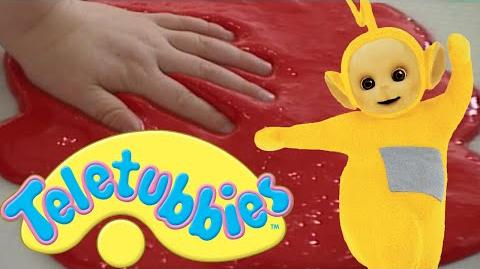 Teletubbies- Painting with our Hands and Feet - HD Video