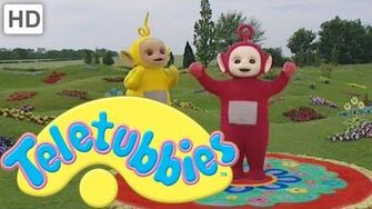Teletubbies Making a Den - HD Video
