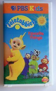 Teletubbies Favorite Things VHS