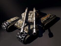 RX-95 Heavy Assault Tank