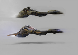 Tts-2 fast attack speeder bike