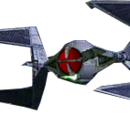 TIE/hd advanced automated starfighter