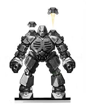 Ber'ta-class Heavy Battle Droid