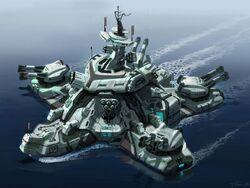Starfish-class Prefabricated Base