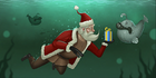 TR2SantaClausSwimming