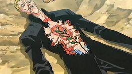 Tsutomu defeated by Maya