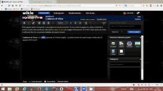 Starting the Italian Tenkai Knights Wiki