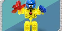 Yellow Tenkai Trooper (Series 1) (toy)
