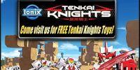 Free Tenkai Knights Toys Event