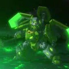 Valorn Tenkai Terrablast Titan Mode