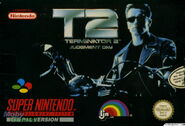 Terminator 2 SNES front