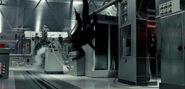 Terminator Salvation- Adam Hart doubling Christian Bale scene 2