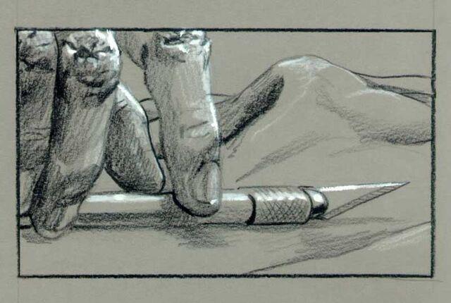 File:T1-art-storyboard-ofT-1 picking the knife.jpg