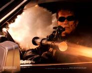 Arnold schwarzenegger-killing the T-X