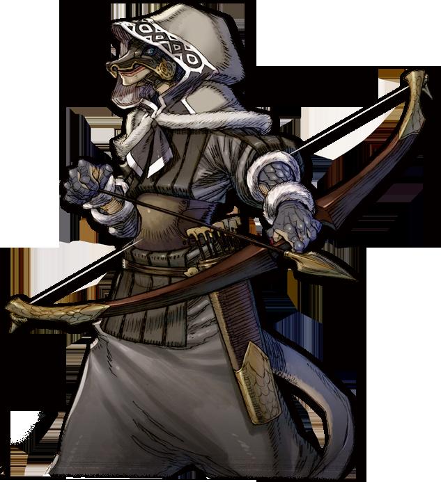 Lizardfolk Archer