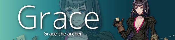 Grace the Archer banner