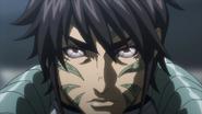 Akari's transformed face