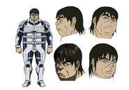 Ichiro Hiruma OVA design