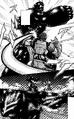 Keiji cracking Infernalis Terraformar exoskeleton.png