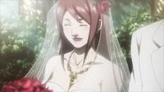 Gina as bride