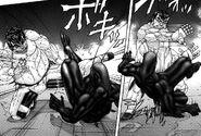 Ichiro fighting with a Terraformar