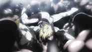 Michelle attacking multiple Terraformars
