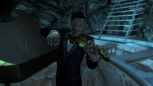 Poseidon Lounge Violinist
