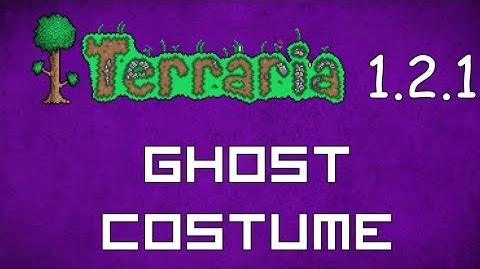 Ghost Costume - Terraria 1.2