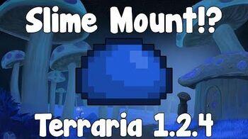 Slime Mount - Terraria 1.2