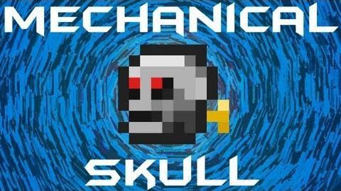 Terraria - Mechanical Skull Terraria HERO